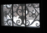 Reed-Hulbert House Frieze Band Window
