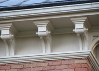 Seeley House Gable Brackets