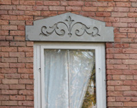 Seeley House Carved Stone Lintels