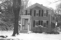 Martin Wood House in 1960
